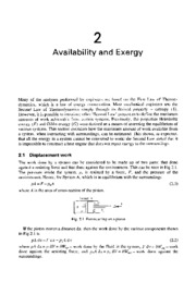 Unknown - Advanced Thermodynamics for Engineers - Chapter 2 Availability & Exergy