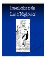 The Law of Negligence (Part 3).pdf