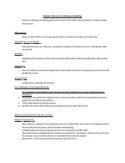 Chapter 6 Business to Business marketing.docx