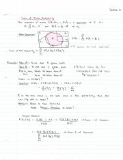 STAT 220 Lecture 6 Notes