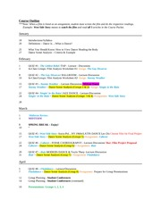 SWD-Spring 11-5-Course Outline(1)
