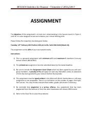 Assignment Question (1)