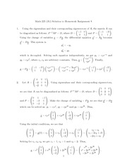 MATH 225 Homework 6 Solutions
