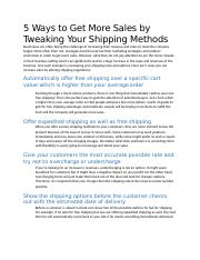 5 Ways to Get More Sales by Tweaking Your Shipping Methods.docx