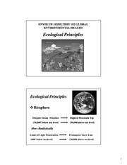 Ecological Principles(2)-1