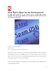 Case 14  How Bad Is Spam For the Environment.pdf
