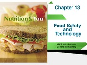 Chapter 13_food safety