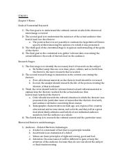 COM 301 Chapter 3 and 4 notes