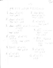 Math Algebra 2 Notes  10