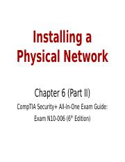 6+-+Installing+a+Physical+Network+_Part+II_ (1).pptx