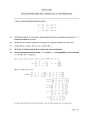 Exam 1 '14 Solutions