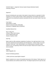hca 240 nervous system diseases worksheet week eight List of featured articles about health and medicine / diseases and disorders /  nervous system diseases : alzheimer disease, cerebral palsy, epilepsy, stroke, .