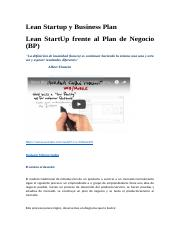 Lean Startup y Business Plan.docx