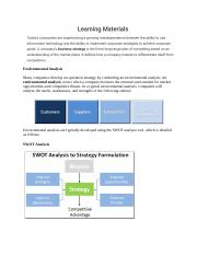 Mgmt Info Sys  Intellipath Unit 1 - Org Strategy Info Impacts
