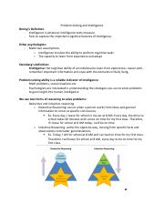 Problem Solving and Intelligence notes.pdf