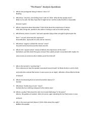 Raven Questions and Answers.docx