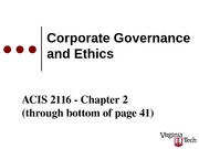 ACIS 2116 Chapter 2 Part 1 Slides with blanks Sp 2008