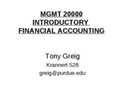 Mgmt 200 Fall 2009 Notes
