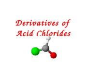Derivatives of methanoyl chloride