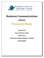 Business Communications - mohammed