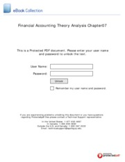 Financial_Accounting_Theory_Analysis_Chapter07