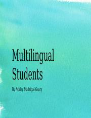 Multilingual Students.pptx