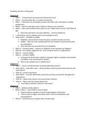 Marketing 144 test 2 study guide.docx
