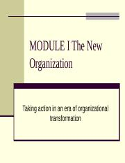 MODULE_I_The_New_Organization (1).ppt