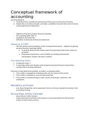 Financial accounting application