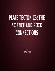 Plate Tectonics Lecture(1)