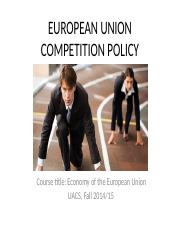 EUROPEAN-UNION-COMPETITION-POLICY