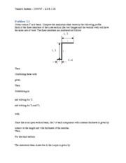 Torsion Problem 3.3 answer