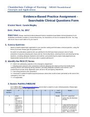 Bingley_NR500_Revised_Based_Practice_Searchable_Clinical_Questions_Form20163.docx