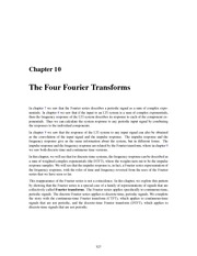 Chapter-10-Four-Fourier-Transforms