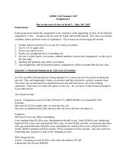 3541 SU2017 Assignment 1 - SOLUTIONS FINAL (1).doc