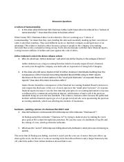 BIGGER THAN ENRON  - Discussion Questions - Worksheet