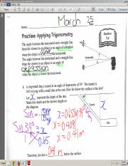 2015-03-25 Section 7-4 Word Problems Applying Trigonometry  - chipmunk in tunnel.pdf