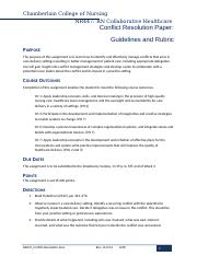 Conflict_Resolution_Paper_Guidelines
