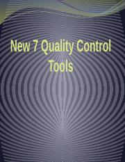 7 Quality Control Tools (New)