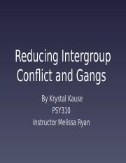 strategies to reduce intergroup conflict