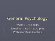 2015Fall.PSY1 - Lec08.Personality.ppt
