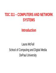 Session One - Introduction to Systems Architecture and Telecommunication Systems.ppt