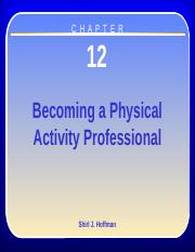 Chapter 12 - Becoming a PA Prefessional