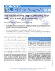 The Middle Income Trap - Comparing Asian and Latin American Experiences.pdf