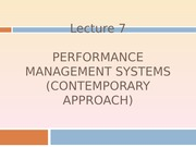 Lecture 7_Performance Management System_Part2