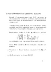 Lec4 - Simulateous Equations
