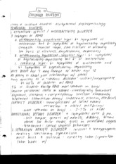 Abnormal Psychology Ch. 10 Notes