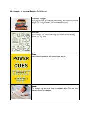 Power Cues Pdf