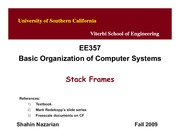 Unit9-StackFrames-EE357-Nazarian-Fall09