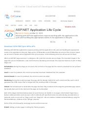 ASP Life cycle httphandler and httomodules.pdf